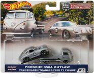 Hot Wheels Car Culture Team Transport VW T1 + Porsche 356
