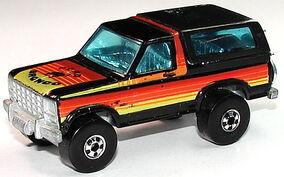 Bronco 4-Wheeler BlkBluTntLft