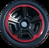 Chrome Red & Black MC5