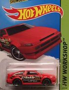 2015 239-250 HW Workshop - Drift Race 4-5 Toyota AE-86 Corolla '323 GReddy' Red