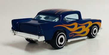'57 Chevy. HW Flames. Rear