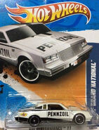 2011 139-244 HW Performance 09-10 Buick Grand National 'Pennzoil' White