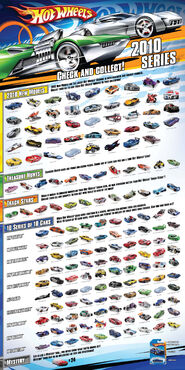 Hot wheels 2010 poster