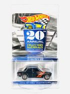 Datsun 510 20th Nationals Convention carded