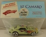 7th Collectors Nationals 67 Camaro NewsLetters light green
