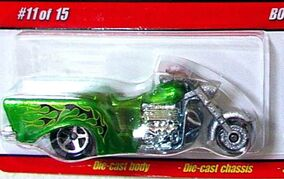 Boss Hoss Motorcycle Green