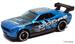 Dodge challenger drift car blue
