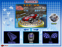 Silhouette II was Playable in Hot Wheels Mechanix PC 2000 Super Launcher 5-Pack