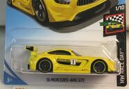 2019 Hot Wheels '16 Mercedes AMG GT3