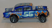 55' Chevy Bel air gasser (4133) HW L1170918