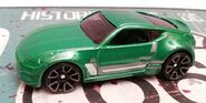 HW NISSAN 370Z Multipack exclusive GREEN
