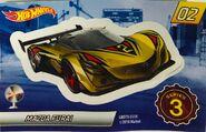 Mystery Model series 3 - 02 of 12 Mazda Furai - Sticker