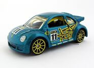 New Beetle Cup Pop Offs Yellow 10SP
