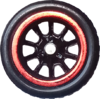 Chrome Red & Black RR10SP