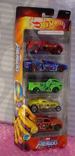 Hot Wheels 5 Pack Avengers