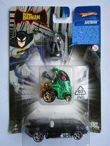 2007 CH Batman 3-Pack Batman Figur, Batmobile Animated Series, L1764