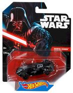 CGW36 Hot Wheels Star Wars Character Car DarthVader XXX