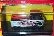 100% Hot Wheels 40th Anniversary VW Truck black