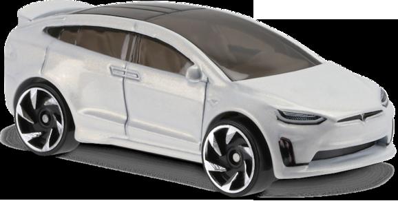 Hot wheels tesla model x