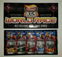 2003 - 3rd Annual Nationals Limited Edition World Race Set
