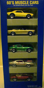 60's Muscle Cars 5 Pack A