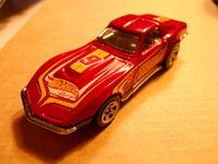 DWC55 '69 Corvette frontal-side view
