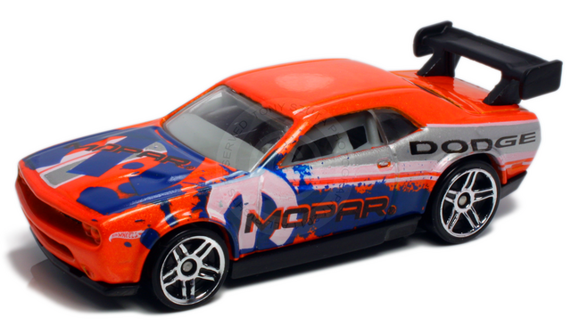File:Dodge challenger drift car 2012 orange.png