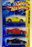 Ferrari FXX Color Variations
