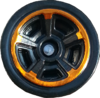 Chrome Orange & Black MC5