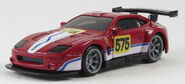 Hot Wheels Ferrari 575 GTC ( Maranello race version ) 2010 Speed Machines (1)