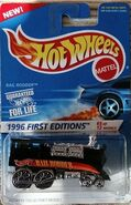 Hot Wheels Rail Rodder 1996 First Editions
