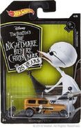 Hot Wheels Nightmare Before Christmas Midnight Otto carded