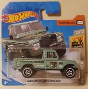 2020 Hot Wheels Land Rover Series III Pickup