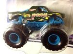 Hot-wheels-monster-jam-green-avenger-monster-truck-1-64-scale-die-cast-collectible-replica-2002 21632718