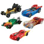 Veiculo-Hot-Wheels---Personagens-DC-Comics---Pack-com-5-Veiculos-Sortidos---Mattel-1