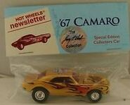 7th Collectors Nationals 67 Camaro NewsLetters gold