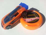 Battle Spec stopwatch & car