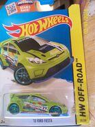'12 Ford Fiesta green