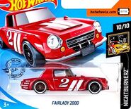 2019 Hot Wheels Fairlady 2000 2nd color
