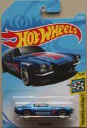 70 Camaro -Blu FJY39 Card