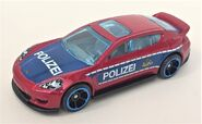 Panamera Police Red