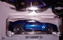 2017 Camaro ZL1 Camaro Fifty Blue