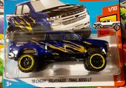 2019 Hot Wheels '19 hevy Silverado Trail Boss LT