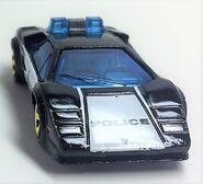 Lamborghini Countach Police Car.Front
