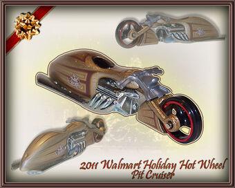 2011 Hot Wheels Clover Cars Pit Cruiser
