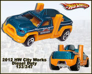 2012 HW City Works Diesel Duty 133-247