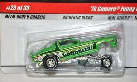 Gangreen Camaro Funny Car
