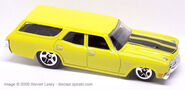 Chevelle SS 1970 Wagon - Yellow