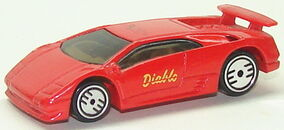 Lamborghini Diablo RedUH