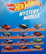 HW Mystery Models 2015